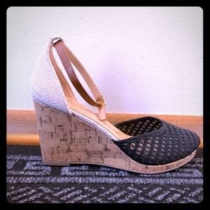 Size 11 Ankle Strap Wedge, Closed Toe, BRAND New